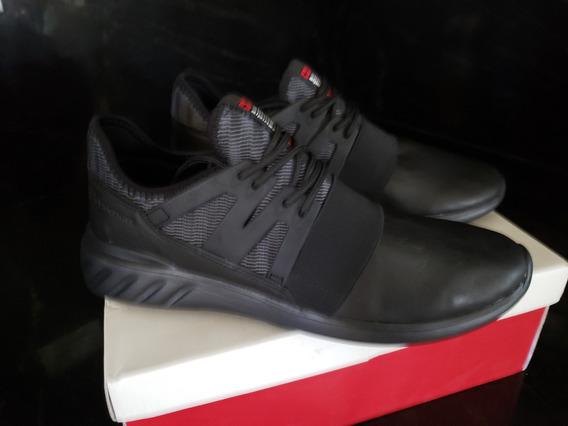 Zapato Deportivo Negro Marca Alpine Swiss Talla 12 De Hombre
