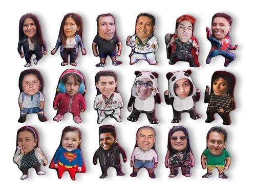 Imagen 1 de 2 de Cojín Chiquito Full Personalización Cuerpo 40cm Vudú Love