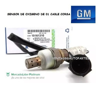 Sensor De Oxigeno Chevrolet Corsa Gm 1 Cable 1 Pin