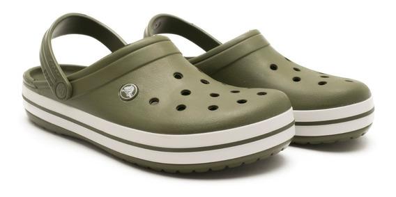 Crocband Unisex Verde Crocs Originales