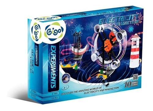 Juego Electricidad Y Magnetismo Gigo 7065 Armar Experimento