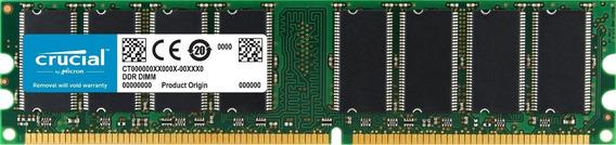 Memoria Ram 1gb Ddr1 400mhz Pc-3200 Crucial