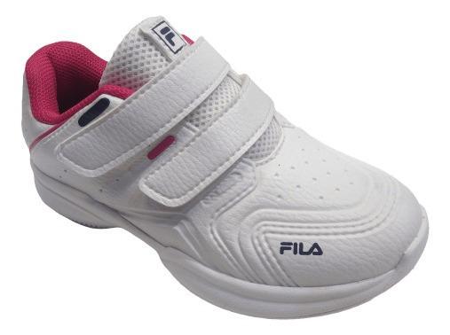 Zapatilla Fila Lugano 6.0 Baby Blanco/fu/mar - 885263
