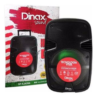Parlante Portatil Dinax House Dx 800w Fiesta Karaoke Ade