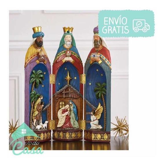 Imagenes Tres Reyes Magos Gratis.Adornos Navidenos Reyes Magos En Mercado Libre Mexico