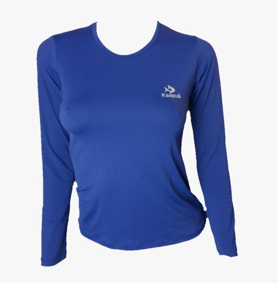 Camiseta Esporte Térmica Uv 50+ Dry-fit Segunda Pele Feminin