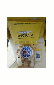 Relógio Invicta Subaqua Original Mais Pulseira De Blinde