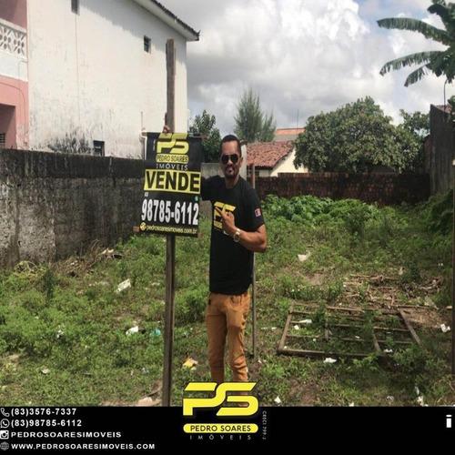 Terreno À Venda, 286 M² Por R$ 120.000 - José Américo De Almeida - João Pessoa/pb - Te0316
