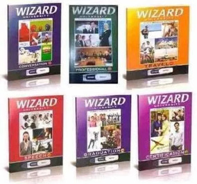English Wizard - Todos Os Livro .vendo Separado