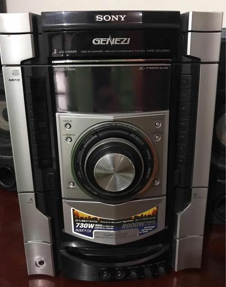 Som Sony Mhc - Gnx800