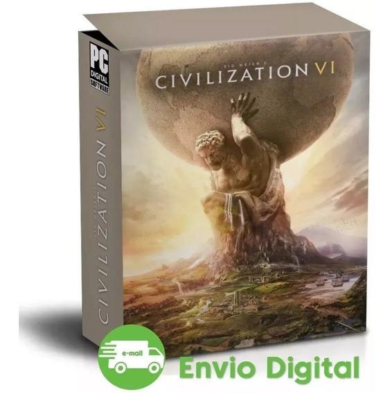 Sid Meiers Civilization Vi Gathering Storm Pt-br Pc