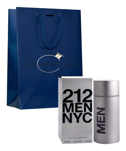 Perfume Locion 212 Men Nyc 100ml Import - mL a $630