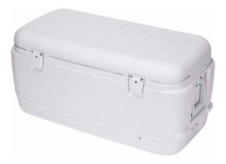 Caixa Térmica Quick E Cool 95l Com Alças Branca 030340 Igloo