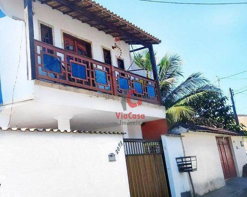 Casa À Venda, 150 M² Por R$ 175.000,00 - Jardim Miramar - Rio Das Ostras/rj - Ca1047