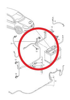 Juego Cables Alternador Trifasico Vento 14-18 6r0971349 Gr