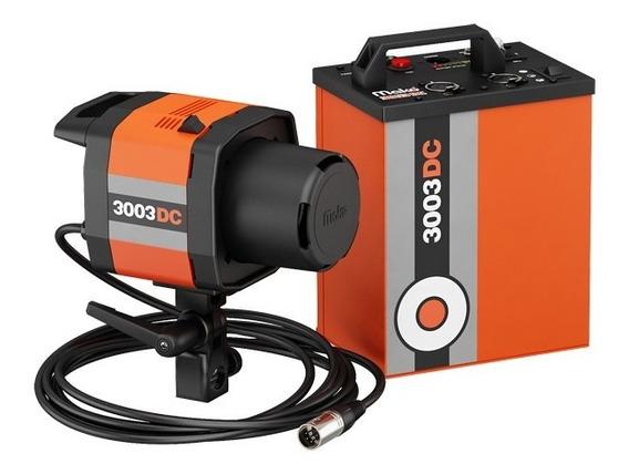 Flash A Bateria Mako 3003dc Com 1 Tocha