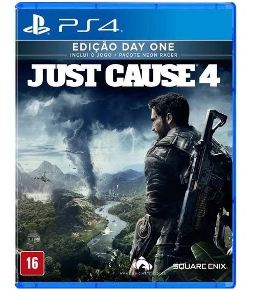 Just Cause 4 Ps4 Midia Fisica Game Lacrado Original Dublado