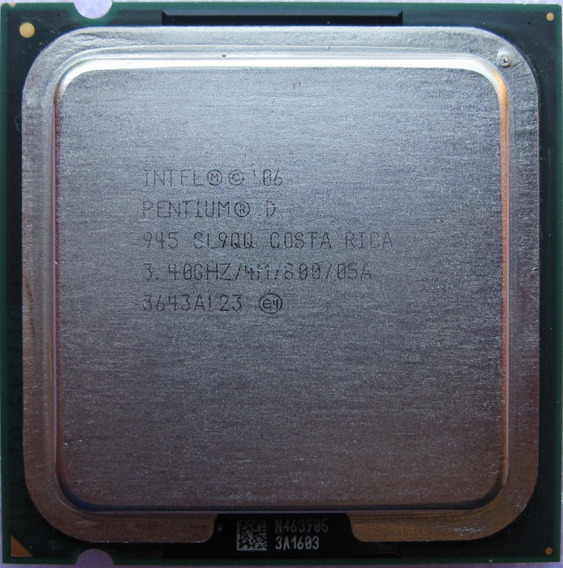 Processador Intel Pentium D 945 Pc 775 Computador Desktop
