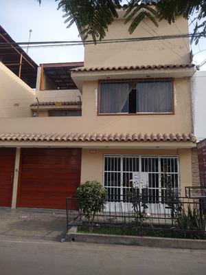 Remató Casa En Comas Urbanización.san Agustín