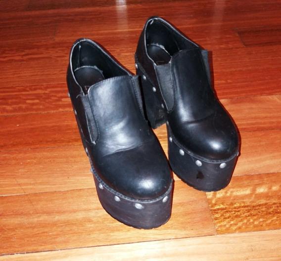 Zapatos Con Plataforma Nro. 35