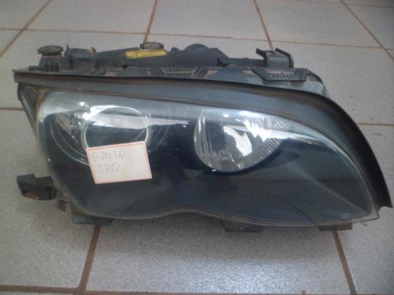 Farol Ld Bmw 320 1999 2000 2001 Com Reator/ Lampada De Xenon