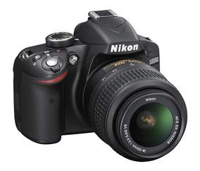 Kit Nikon D3200 Nova + Lente 18-55 + 64 Gb + Full Hd