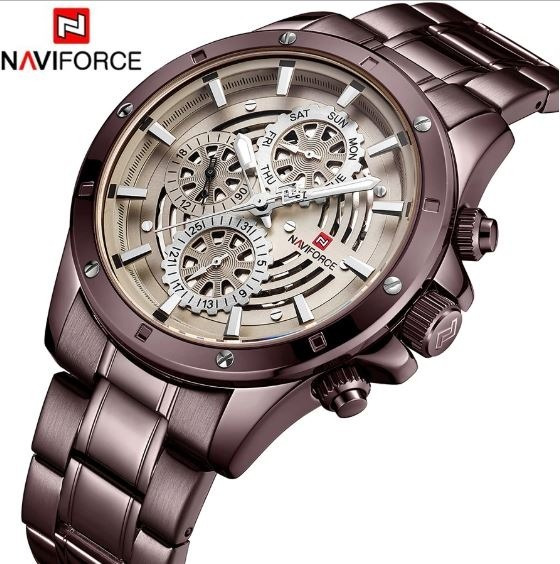 Relógio Naviforce Nf9149 Luxo Promoção