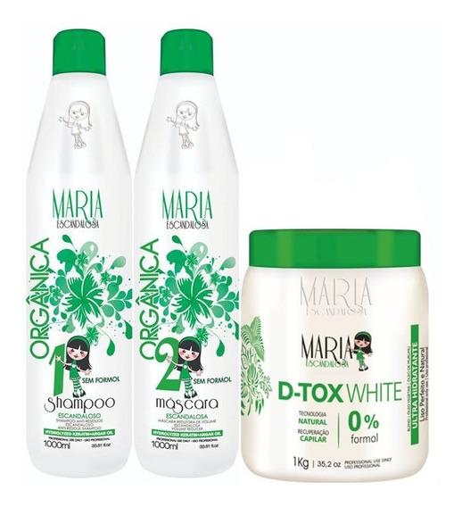Kit Progressiva E Botox 1kg Sem Formol - Maria Escandalosa