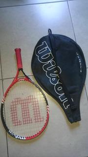 Raqueta De Tenis Junior Wilson 19 Roger Federer Con Funda