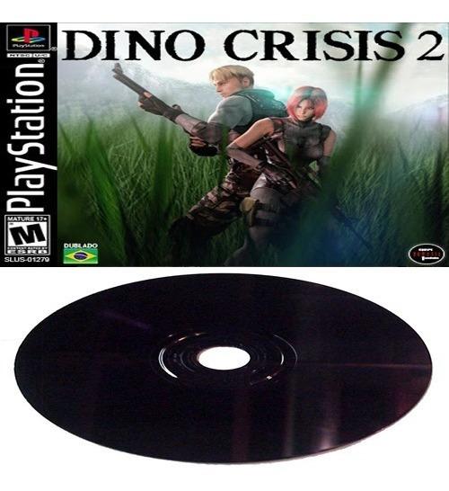 Dino Crisis 2 (dublado Pt-br) Playstation 1 Ou Playstation 2