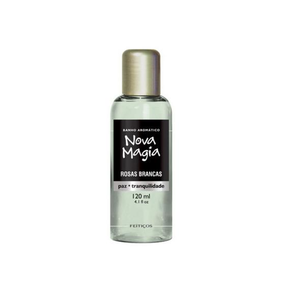 Nova Magia Banho Aromático- Rosas Brancas- Feitiços