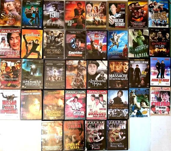 Dvd Colecao Jackie Chan - 35 Filmes - Original