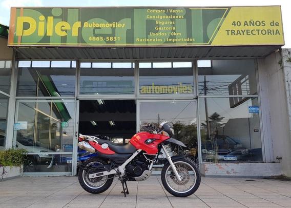 Moto Bmw Gs 650 2010 11000 Km Rojo 46655831