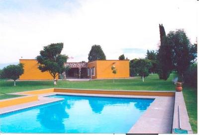 Magnifica Casa En Atlixco Puebla De Un Nivel