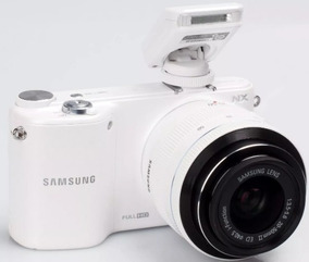 Camera Full H D Samsung Nx2000 - Corpo + Brinde