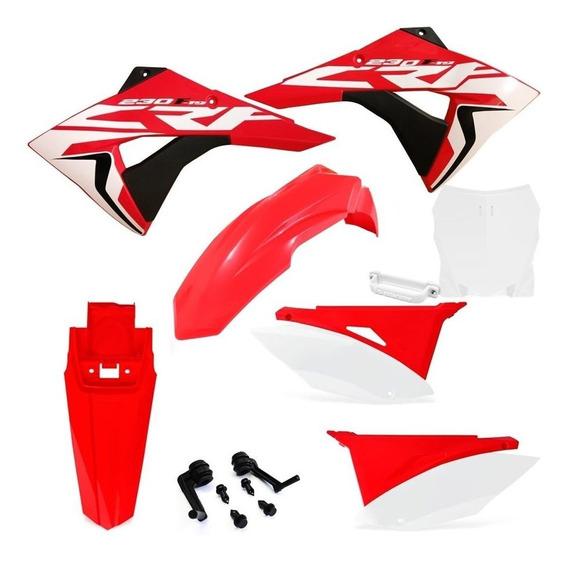 Kit Carenagem Biker Next Crf 230 F Number Plate F1rst 08/19