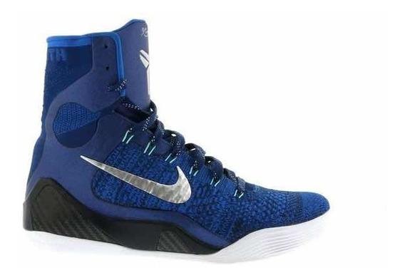 Nike Kobe 9 Elite Brave Blue Usada Sem Box Conservada