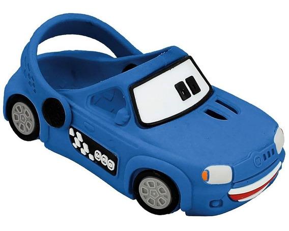 Babuche Plugt Carro Uno - Azul
