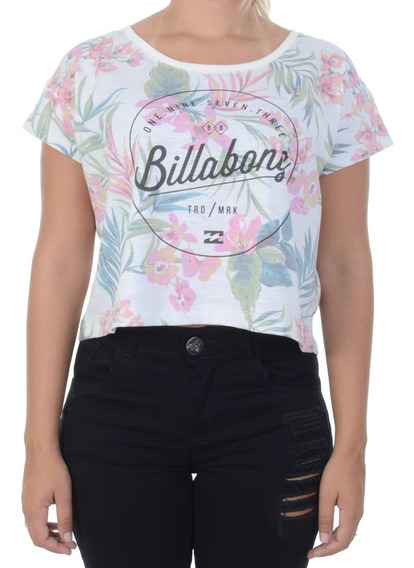 Cropped Billabong Summer Colors Branca