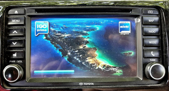 Actualización Gps Toyota Etios Platinum Mapas/radares. 2019