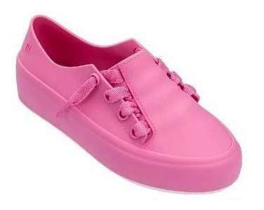 Tenis Infantil Melissa Mel Ulitsa Sneaker Preto Opaco 32539