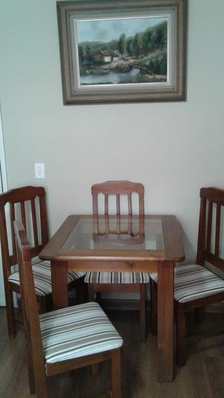 Mesa De Jantar/ 4 Cadeiras