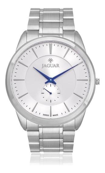 Relógio Jaguar J020bss01 S1sx Pulseira Prata Mostrador Prata