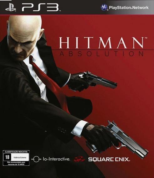 Hitman Absolution Ps3 Original Envio Imediato Psn!