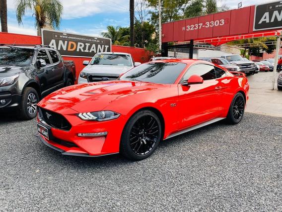 Ford Mustang Gt Premium 5.0 V8 Vermelho 2019
