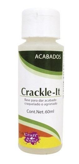 Barníz Crackle It Acabado Craquelado Cerámica Madera Unicel
