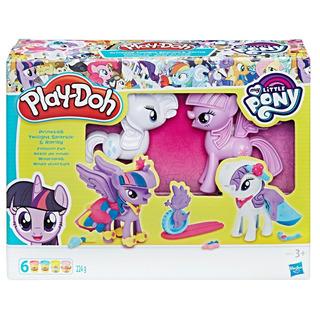 Play-doh My Little Pony Twilight Spark. Y Rarity (4269)