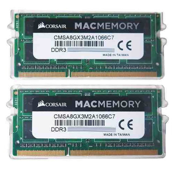 Kit Memoria 8gb 2x4gb 1066mhz Ddr3 Corsair iMac Macbook