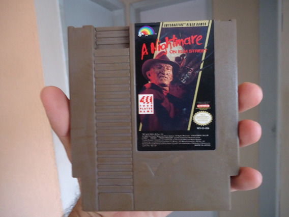 A Nightmare On Elm Street - Original Nes - Nintendinho