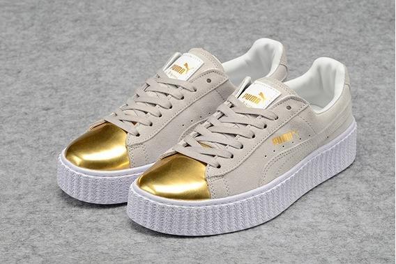 Tênis Puma Shoes Importado Original Edição Dourado